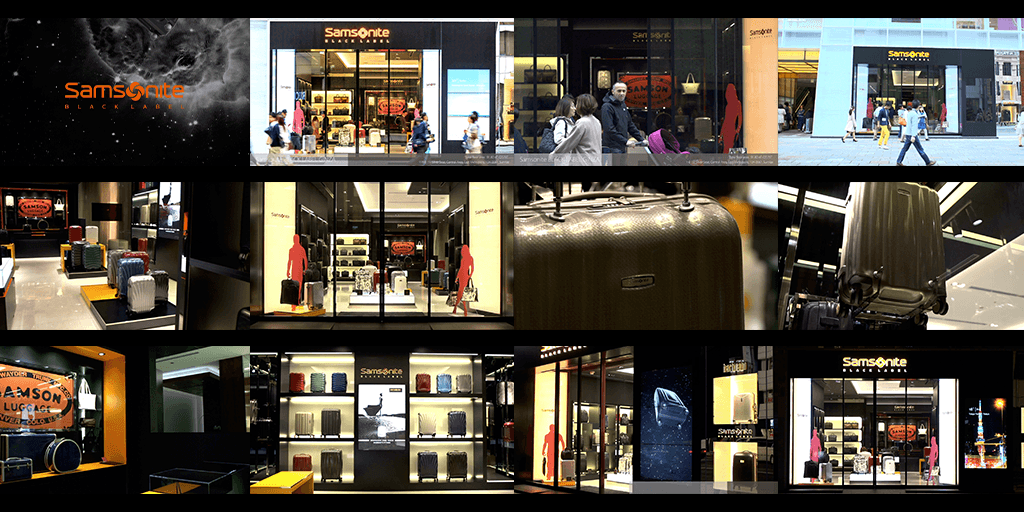 5.7k Timelapse for Samsonite BLACK LABEL @ KIRARITO GINZA