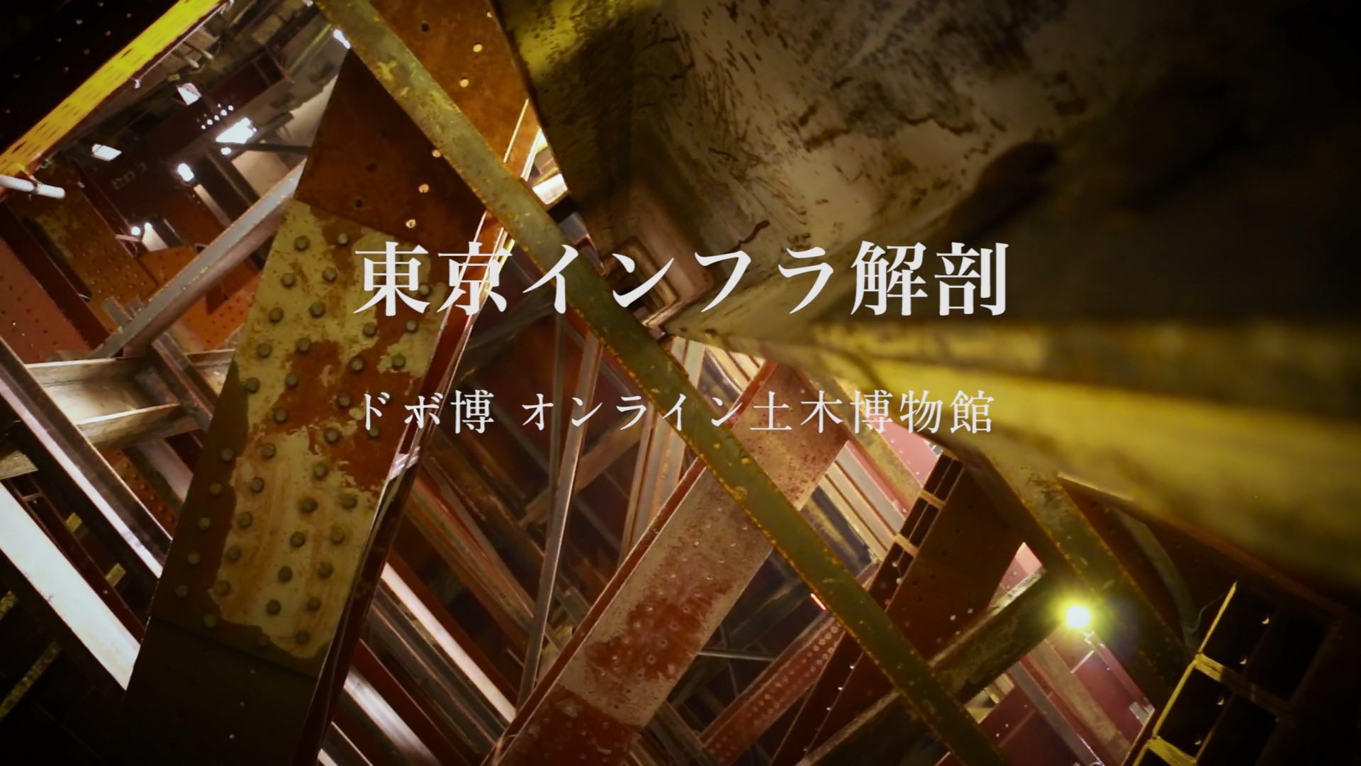 東京インフラ解剖 Promotion Video for ドボ博 dobohaku Online Museum of Civil Engineering